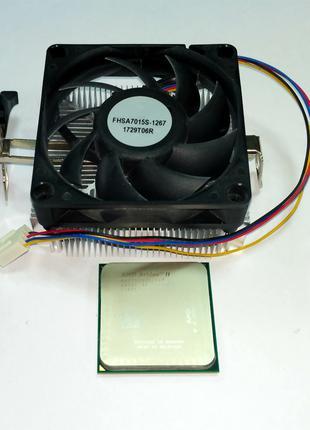 Процессор AMD Athlon II X2 260 3.2GHz + Cooler Socket AM2+/AM3
