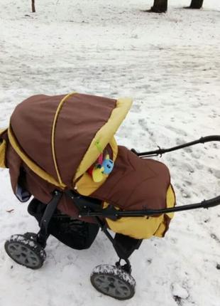 детская коляска-трансформер(в хорошем состоянии)