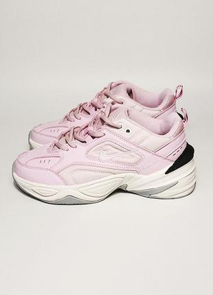 Женские кроссовки nike techno m2k pink