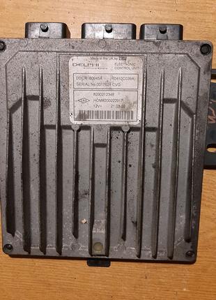 Электронный блок управления (ЭБУ) (компьютер) Renault Kangoo