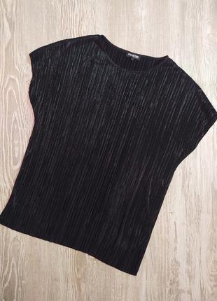 Нарядная блузка в мелкую плиссировку debenhams размер 18