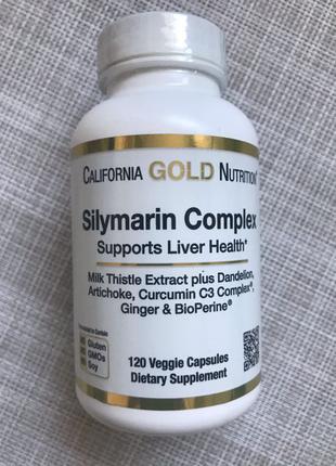 Силимарин , здоровье печени , силимариновый комплекс , 120 шт , C