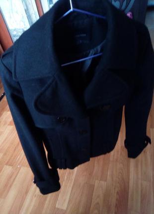 """Шикарное пальто из натуральной шерсти """"vero moda"""""""