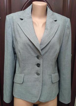 Marks & spencer серый классический пиджак