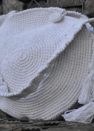 Вязанная женская эко-сумка