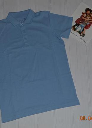 Нові футболки поло next  розм. з 98 по 158 в наявності