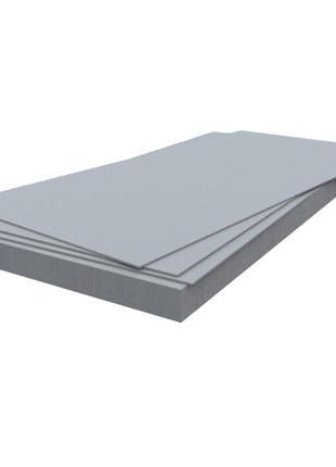 Шифер волокнисто-цементный плоский 1500x1200x8 мм