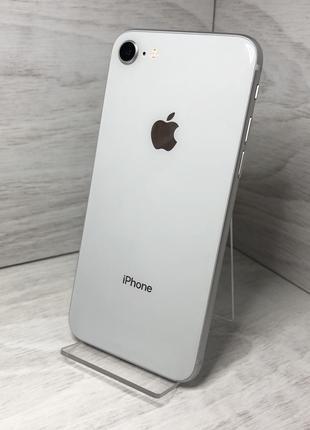 iPhone 8 silver 64 gb Идеал, Гарантия 2 месяца