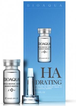 Сыворотка для лица bioaqua с гиалуроновой кислотой 100% hyalur...