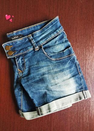 Джинсовые шорты red blue с низкой посадкой, молодежная одежда