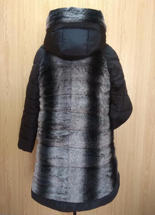 Куртка пальто зимняя с мехом, от производителя! 50-62 р-ры