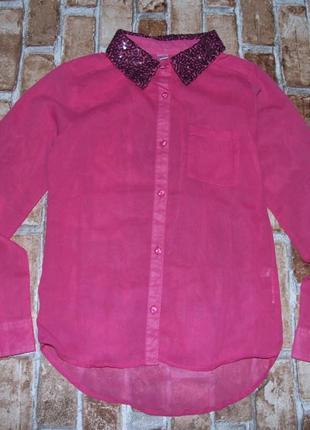 Блузка девочке нарядная 11-12 лет сток