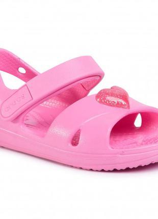 Crocs босоножки сандали classic cross strap sandal c7 8 9 10 1...