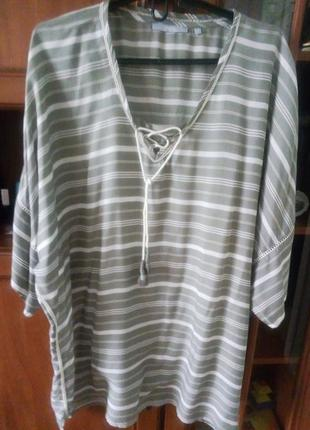 Туника/блузка cecil из натуральной ткани