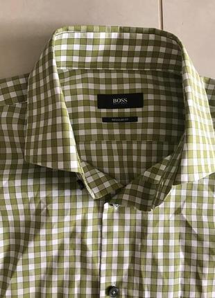 Рубашка мужская стильная модная hugo boss размер l