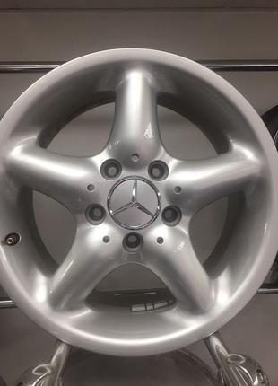 Диски R15 Mercedes 7j 5*112 et37 dia66,6 4шт оригінали нові