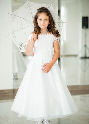 Платье нарядное детское на выпускной