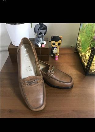Новые брендовые кожаные туфли лоферы класса lux jaco германия