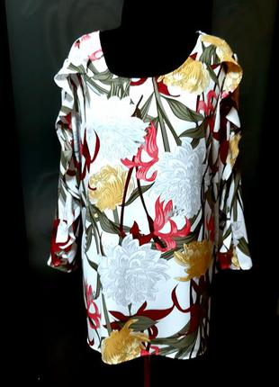 Стильная блузка шифоновая