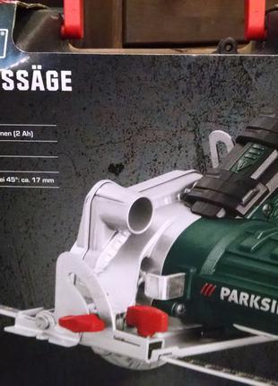Продам Пила циркулярная торцовая аккумуляторная Parkside PHKSA 12