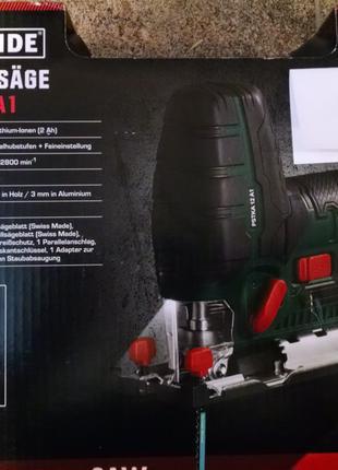 Продам Аккумуляторный лобзик PARKSIDE PSTKA 12 A1,новый из Герман