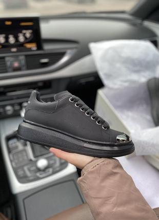 Кроссовки Alexander McQueen Black