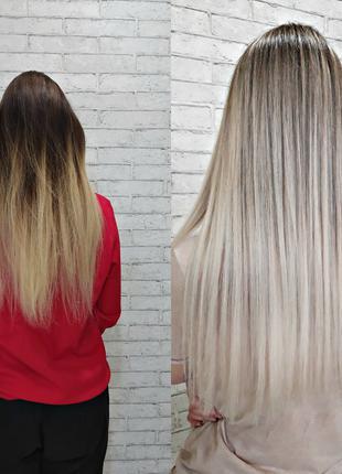 Сложные техники окрашивания волос: балаяж, омбре, сомбре, шатуш.