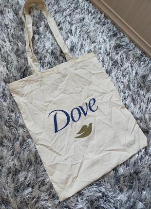 Новая эко сумка шоппер dove