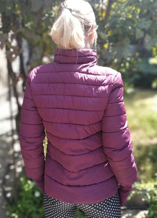 Куртка весна- осень баклажан