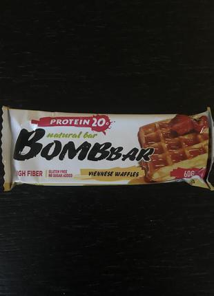 Протеиновый батончик Bombbar 60 г. Лучшая цена! Ешь и худей!