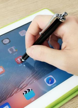 Стилус для емкостных экранов Ipad Iphone для смартфона метал