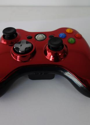 Геймпад Xbox 360 Chrome Series Red, Оригинал