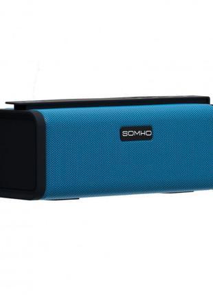 Портативна Bluetooth колонка Type Somho S311 Black,Red,Blue