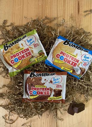 Протеиновое низкокалорийное печенье Bombbar. Лучшая цена!