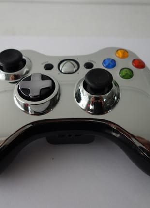 Геймпад Xbox 360 Chrome Series Silver, Оригинал