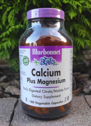 Кальций магний с iHerb. Bluebonnet Nutrition