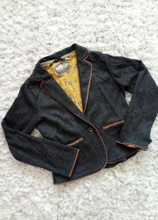 Стильный школьный пиджак от next #школьная форма