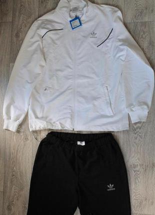 Женский спортивный костюм adidas (батал) большого размера