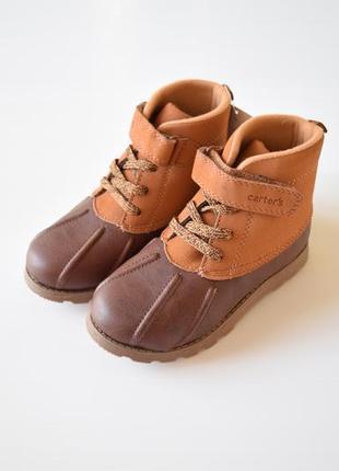 Осенние ботинки для мальчика carter's
