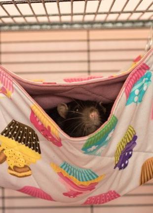 Двухэтажные гамаки для крыс и других животных