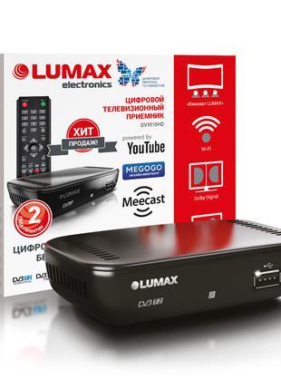 Ресивер DVB-T2 Lumax DV1110HD с поддержкой интернет