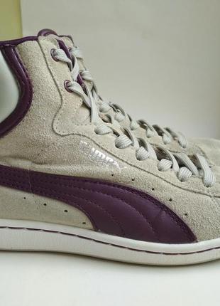 Замшевые кроссовки puma р.37 оригинал
