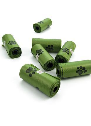 Экологичные разлагаемые кулечки для выгула
