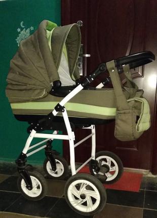 """Детская универсальная коляска Adamex """"Pajero """" Б.У."""
