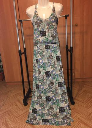 Длинное платье в пол