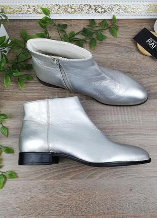 🌿38🌿европа🇪🇺 кожа. фирменные стильные ботинки