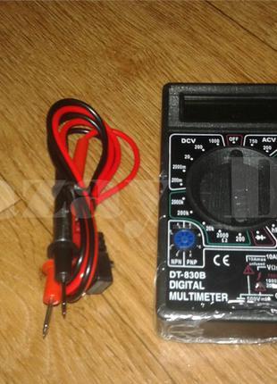Цифровой мультиметр тестер вольтметр DT-830B  75 грн