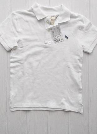 Нова футболка поло h&m розм. 4-6 р./116, 6-8 р./128 і 8-10 р./140