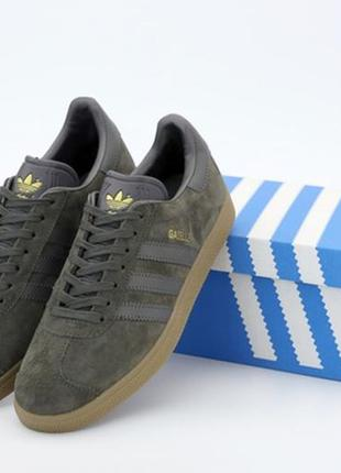 Мужские кроссовки адидас газель, adidas gazelle brown