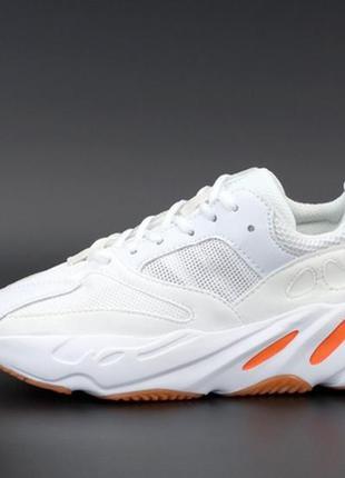 🌹💙adidas yeezy boost 700 white red💙🌹женские кроссовки адидас и...